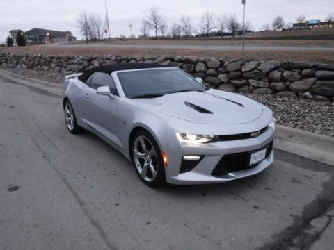 Pre-Owned 2017 Chevrolet Camaro SS RWD 2D Convertible