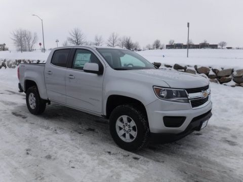 New 2018 Chevrolet Colorado Work Truck 4WD