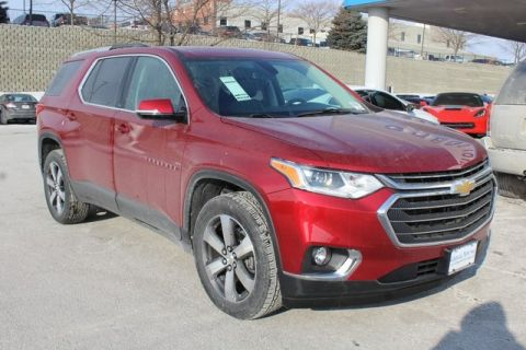 New 2018 Chevrolet Traverse LT Leather FWD 4D Sport Utility