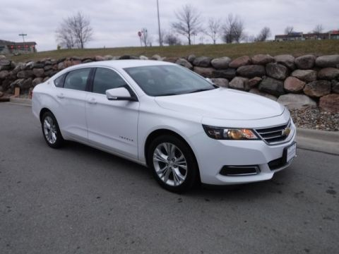 Certified Pre-Owned 2014 Chevrolet Impala LT FWD 4D Sedan
